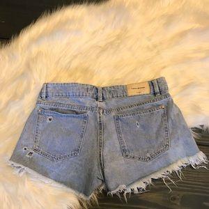 "Zara Trafaluc Denimwear Shorts 2.5"" Destructed"